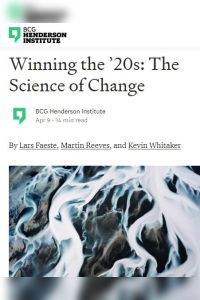 The Science of Change summary