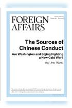 The Sources of Chinese Conduct