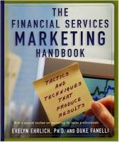 The Financial Services Marketing Handbook book summary