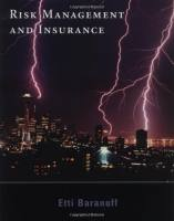 Risk Management and Insurance book summary