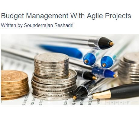 Image of: Budget Management with Agile Projects