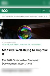 Measure Well-Being to Improve It summary
