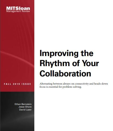 Image of: Improving the Rhythm of Your Collaboration