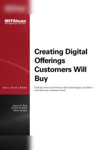 Creating Digital Offerings Customers Will Buy summary