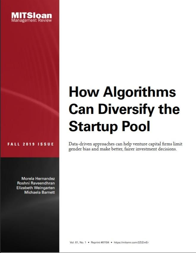 Image of: How Algorithms Can Diversify the Startup Pool