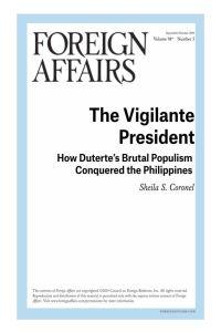 The Vigilante President summary