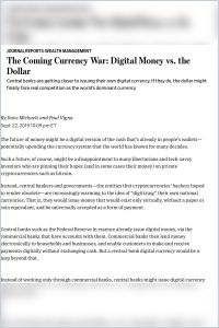 The Coming Currency War summary