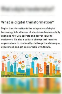 Getting Started with Digital Transformation summary