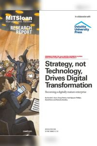 Strategy, not Technology, Drives Digital Transformation summary