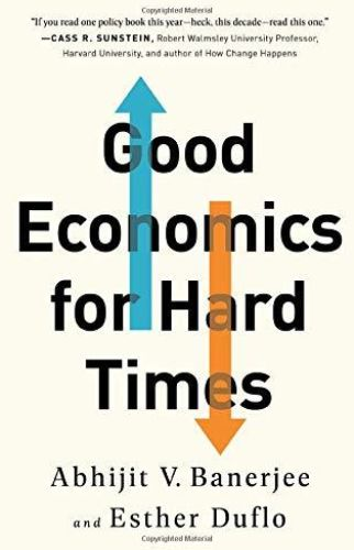 Image of: Good Economics for Hard Times