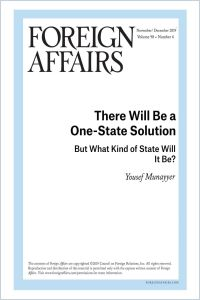 There Will Be a One-State Solution summary