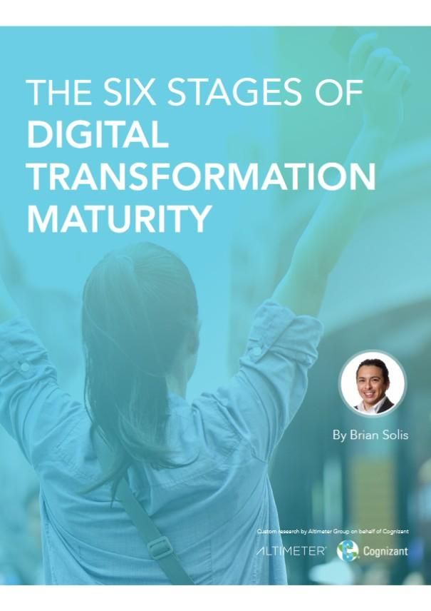 Image of: The Six Stages of Digital Transformation Maturity