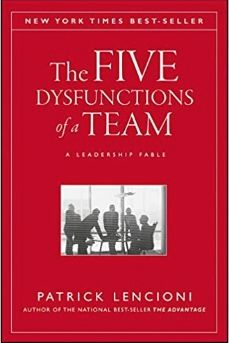 Image of: The Five Dysfunctions of a Team