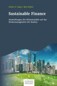 Sustainable Finance Buchzusammenfassung