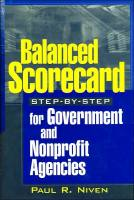 Balanced Scorecard Step-by-Step book summary