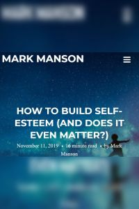How to Build Self-Esteem (and Does It Even Matter?) summary