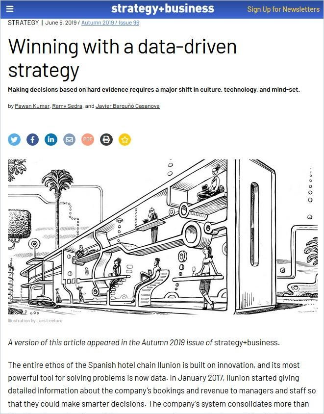 Image of: Winning with a Data-Driven Strategy