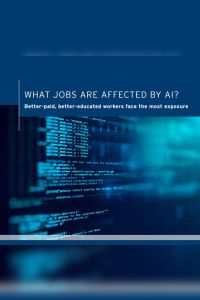 What Jobs Are Affected by AI? summary