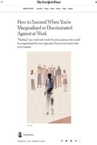 How to Succeed When You're Marginalized or Discriminated Against at Work summary
