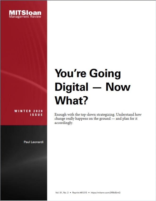 Image of: You're Going Digital – Now What?