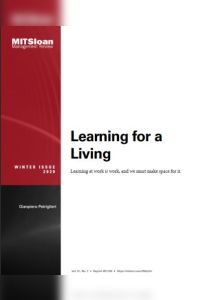 Learning for a Living summary