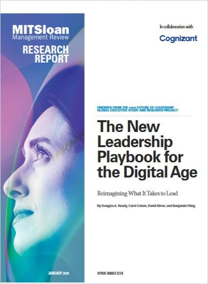 Image of: The New Leadership Playbook for the Digital Age