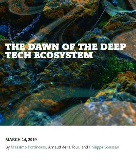 Image of: The Dawn of the Deep Tech Ecosystem
