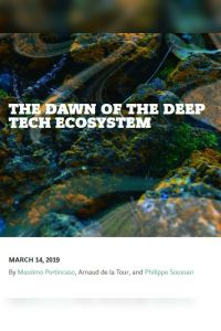 The Dawn of the Deep Tech Ecosystem summary