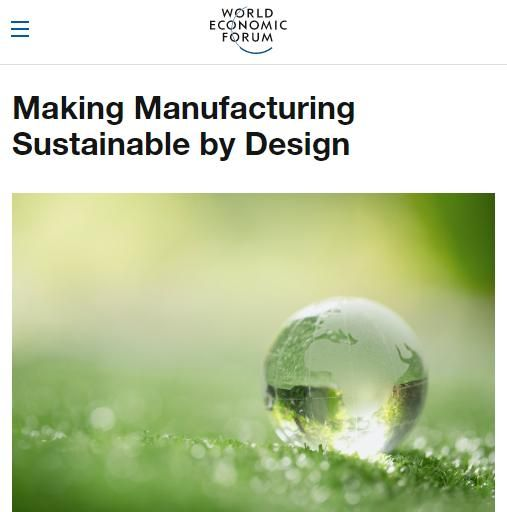 Image of: Making Manufacturing Sustainable by Design