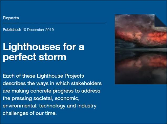 Image of: Lighthouses for a Perfect Storm