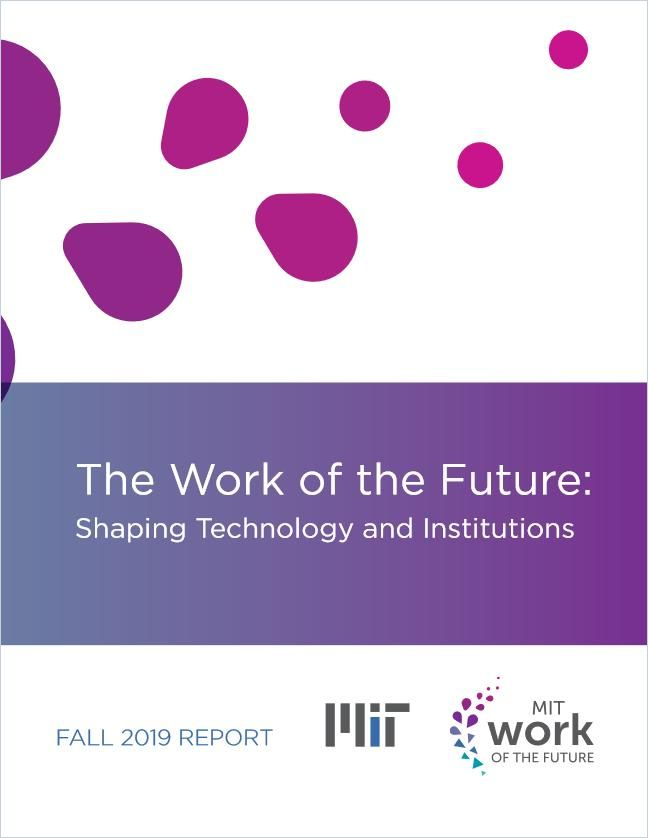 Image of: The Work of the Future