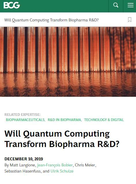 Image of: Will Quantum Computing Transform Biopharma R&D?
