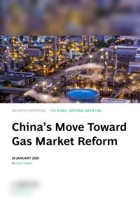 China's Move Toward Gas Market Reform summary