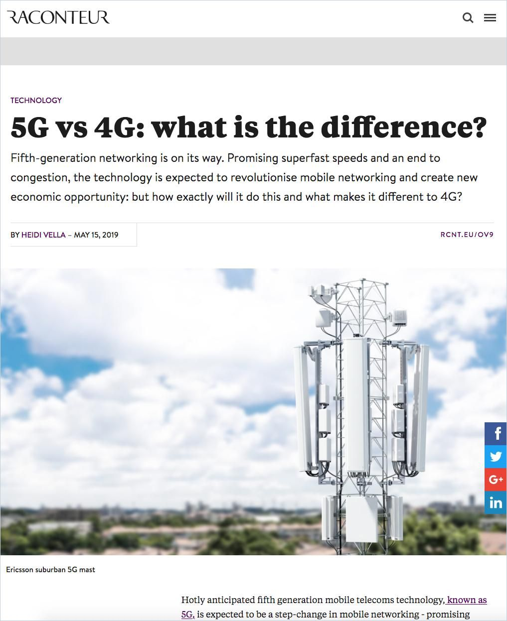Image of: 5G vs 4G: What Is the Difference?