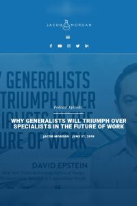 Why Generalists Will Triumph Over Specialists in The Future of Work summary
