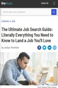 The Ultimate Job Search Guide summary