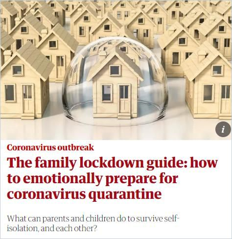 Image of: The Family Lockdown Guide