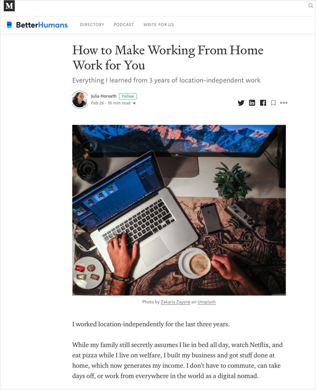 Image of: How to Make Working from Home Work for You