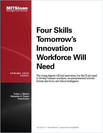 Image of: Four Skills Tomorrow's Innovation Workforce Will Need