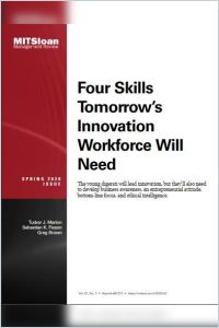 Four Skills Tomorrow's Innovation Workforce Will Need summary