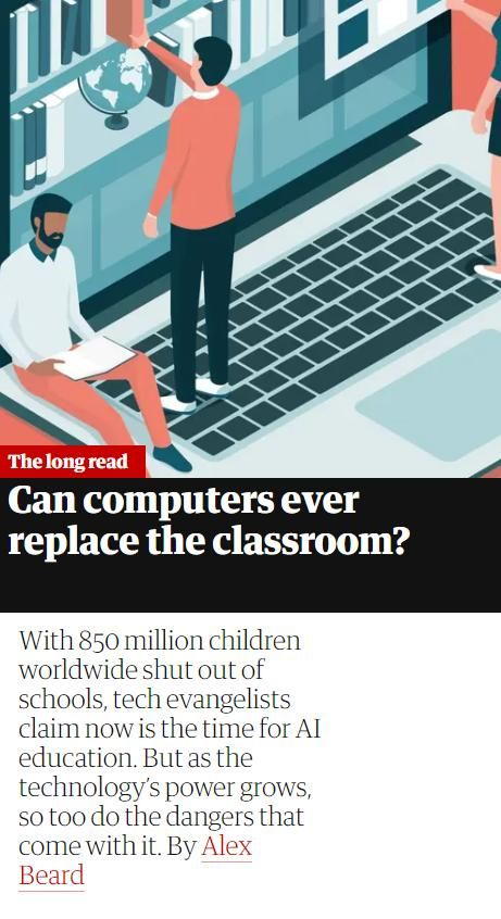 Image of: Can Computers Ever Replace the Classroom?