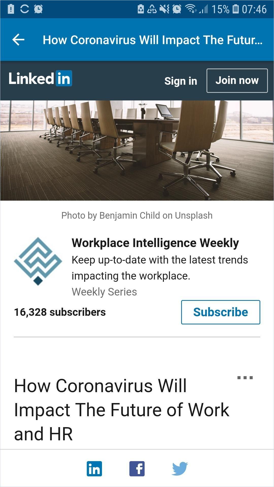 Image of: How Coronavirus Will Impact the Future of Work and HR