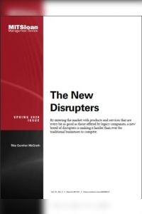 The New Disrupters summary