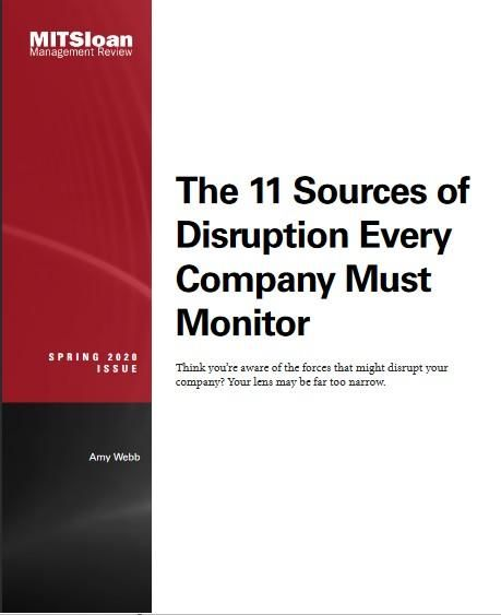 Image of: The 11 Sources of Disruption Every Company Must Monitor