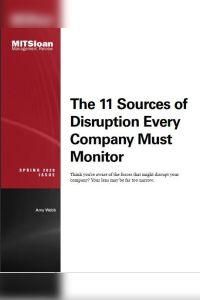 The 11 Sources of Disruption Every Company Must Monitor summary