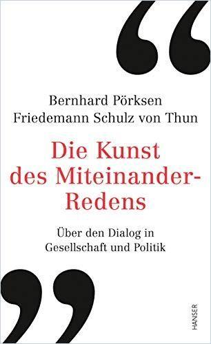 Image of: Die Kunst des Miteinander-Redens