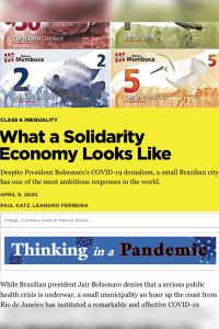 What a Solidarity Economy Looks Like summary