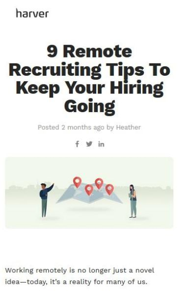 Image of: 9 Remote Recruiting Tips To Keep Your Hiring Going