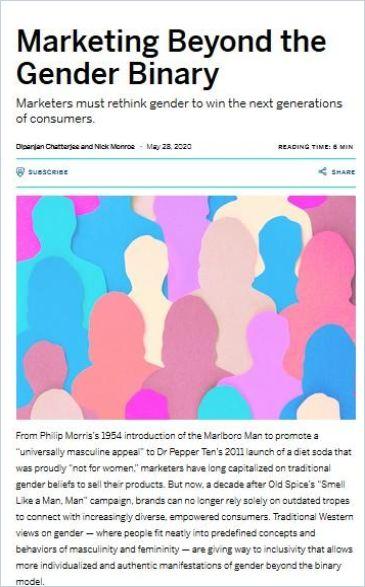 Image of: Marketing Beyond the Gender Binary