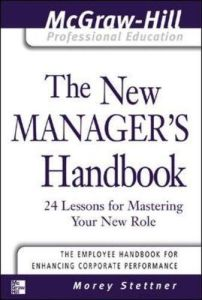 The New Manager's Handbook book summary